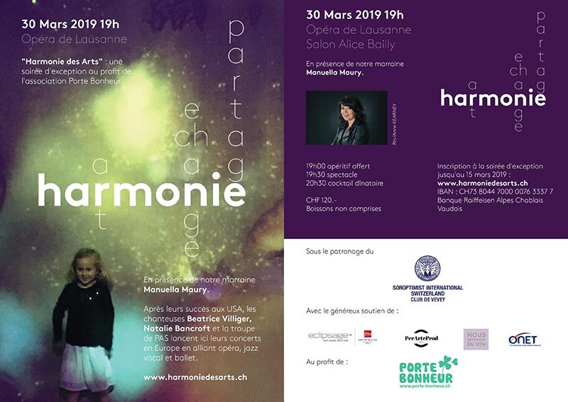 Harmonie des Arts au Salon Alice Bailly de Lausanne